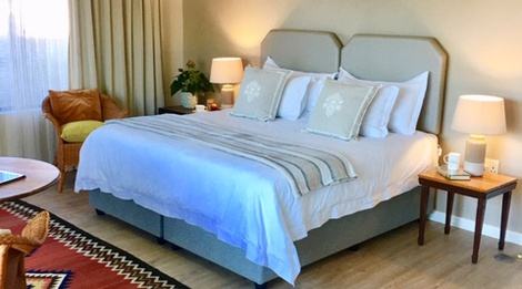 double bedroom of accommodation in cape town photo